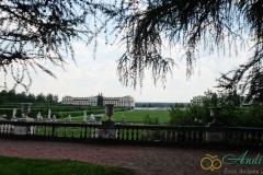 Вид на французский парк