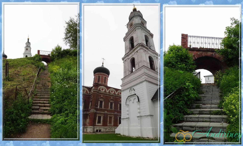Волоколамский кремль. Колокольня и Никольский собор