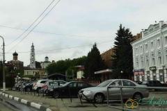 Волоколамский кремль. Вид на Соборный комплекс
