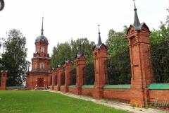 Волоколамский кремль. Ограда и башня