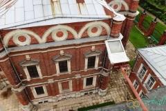 Волоколамский кремль. Вид с колокольни на Никольский храм