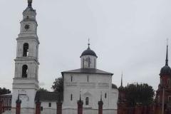 Волоколамский кремль. Колокольня в составе Соборного комплекса.