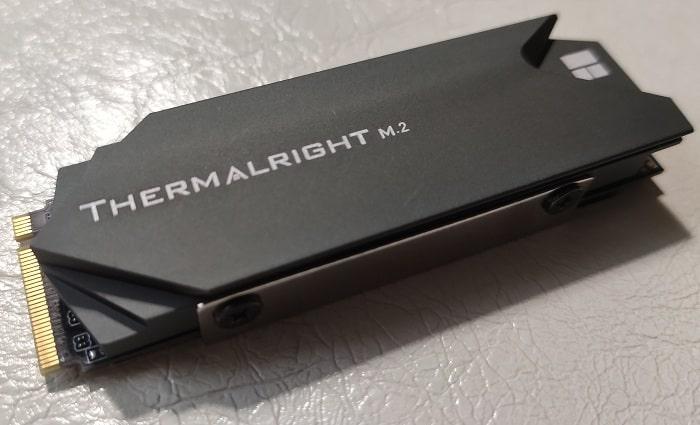 Тестирование радиаторов SSD - Thermalright TR-M.2