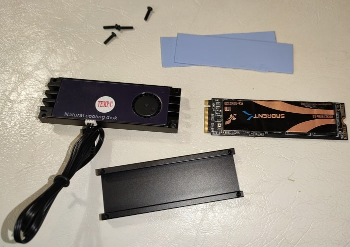 Тестирование радиаторов SSD - VODOOL AX002
