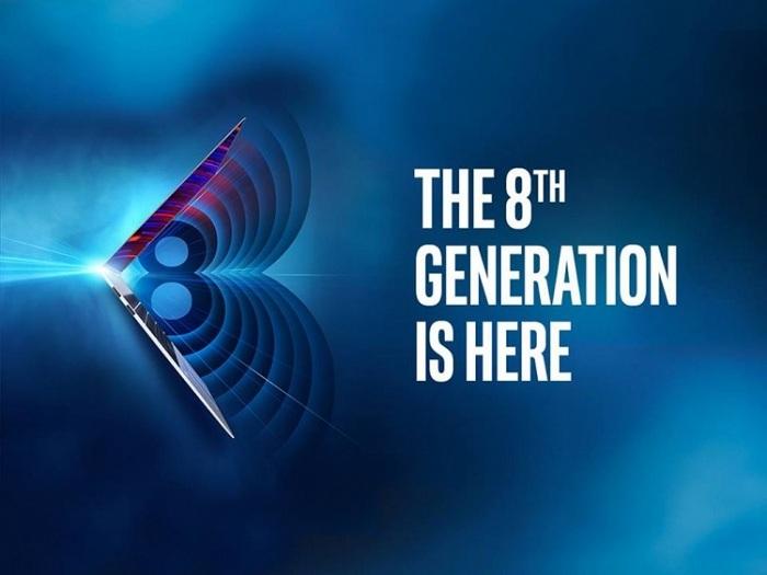 Новые процессоры Intel 8-го поколения для ноутбуков