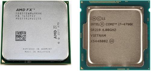 сравнение процессоров старых и новых