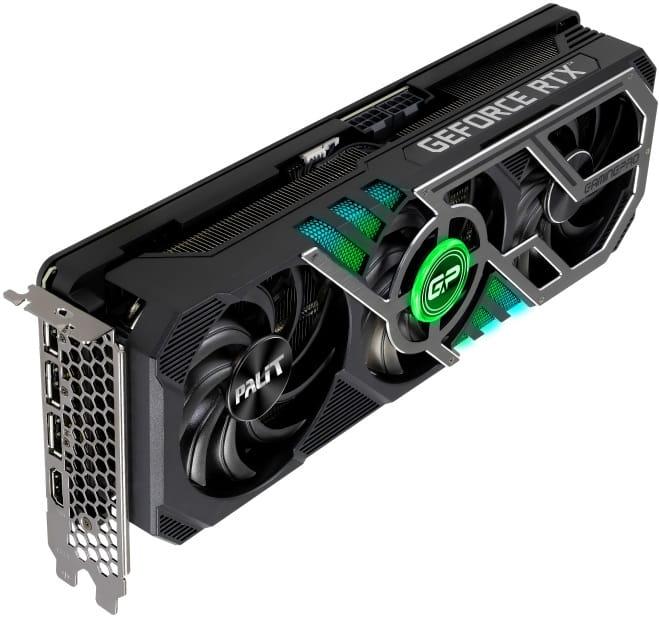 NVidia RTX 3070 Ti - выбор видеокарты PALIT GeForce RTX 3070 TI GamingPro