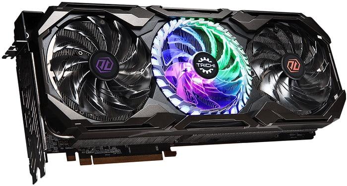 Выбор видеокарты на AMD Radeon RX 6800XT - ASRock Radeon RX 6800 XT Taichi X