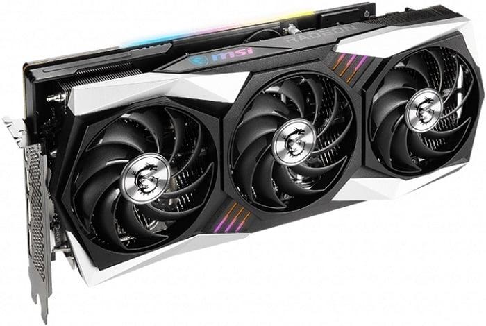 Выбор видеокарты на AMD Radeon RX 6800XT - MSI Radeon RX 6800 XT GAMING X TRIO