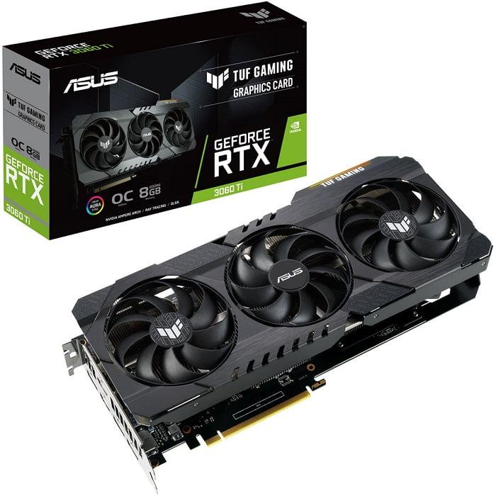 Выбор видеокарты NVidia RTX 3060 Ti - ASUS TUF Gaming GeForce RTX 3060 Ti OC