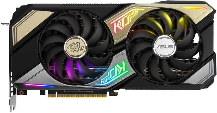 Выбор видеокарты NVidia RTX 3060 Ti - Asus GeForce RTX 3060 Ti KO OC