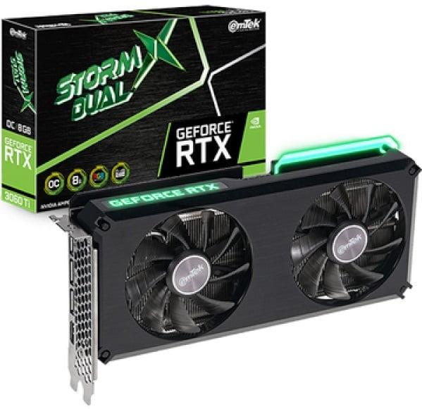 Выбор видеокарты NVidia RTX 3060 Ti - EMTEK GeForce RTX 3060 Ti 8GB Storm X DUAL OC