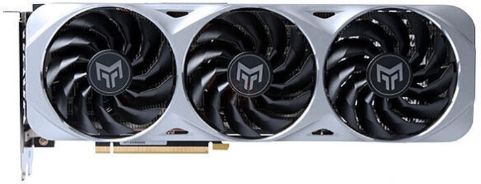 Выбор видеокарты NVidia RTX 3060 Ti - GALAX GeForce RTX 3060 Ti Metal Master OC