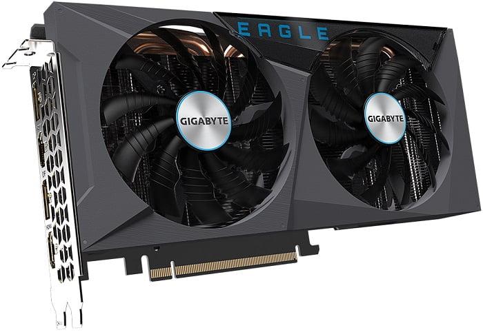 Выбор видеокарты NVidia RTX 3060 Ti - GIGABYTE GeForce RTX 3060 Ti EAGLE