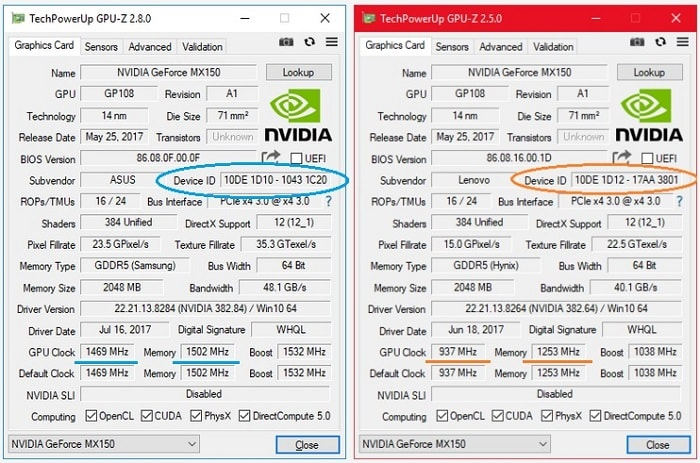 NVidia GeForce MX150 - что это