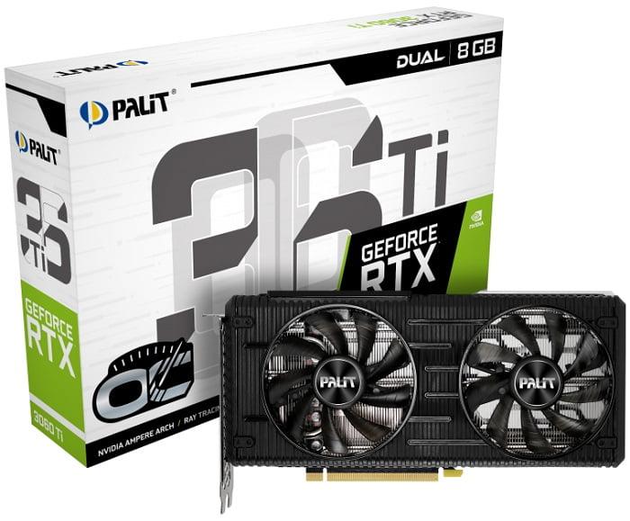 Выбор видеокарты NVidia RTX 3060 Ti - Palit GeForce RTX 3060 Ti Dual OC