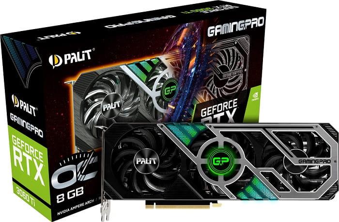 Выбор видеокарты NVidia RTX 3060 Ti - Palit GeForce RTX 3060 Ti GamingPro OC