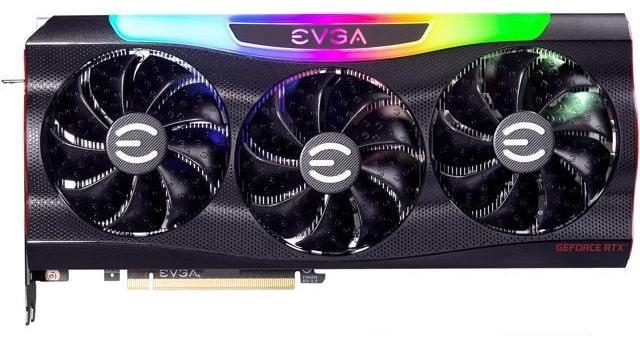 Выбор видеокарты на NVidia RTX 3080 - EVGA GeForce RTX 3080 FTW3 Ultra