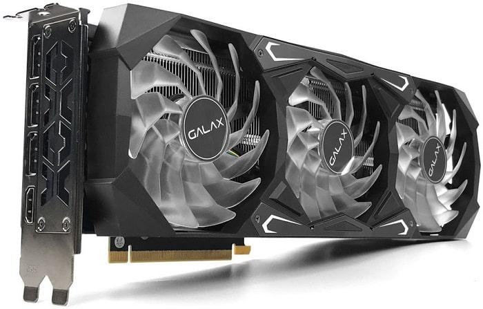 GALAX GeForce RTX 3080 SG (1-Click OC)