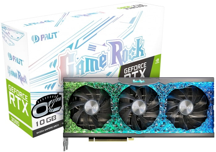 Palit GeForce RTX 3080 GameRock OC