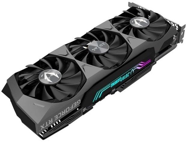 Выбор видеокарты на NVidia RTX 3080 - Zotac GeForce RTX 3080 Trinity