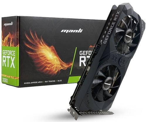 Краткий обзор видеокарт на NVidia RTX 3060 - MANLI GeForce RTX 3060 Rush D6