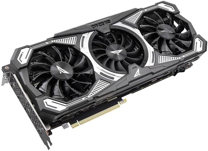Выбор видеокарты NVidia RTX 3060 Ti - ZOTAC GeForce RTX 3060 Ti-8GD6 PGF OC