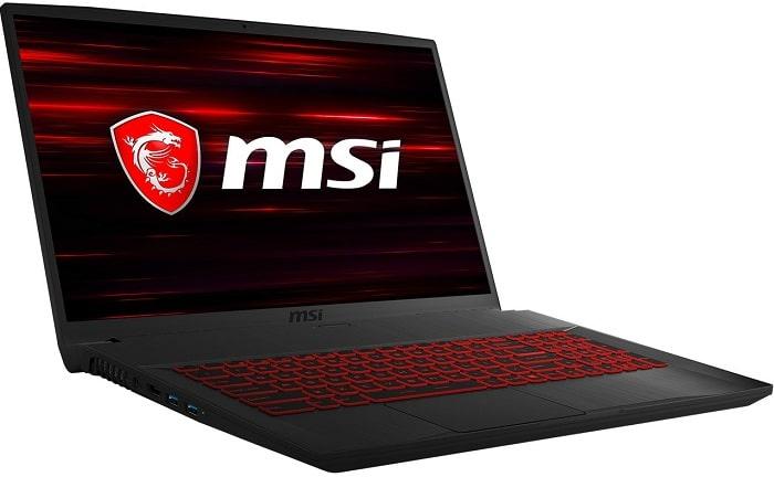 Игровой ноутбук за 70 000 рублей