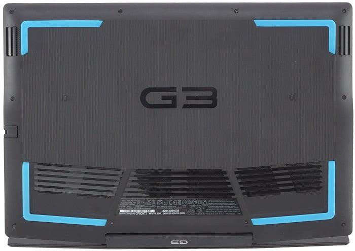 Выбор Dell G3 15 3590 - нижняя крышка