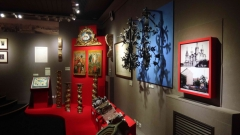 Лужков на выставке в Коломенском