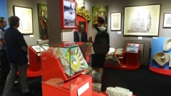 Лужков на выставке в Коломенском (9а)