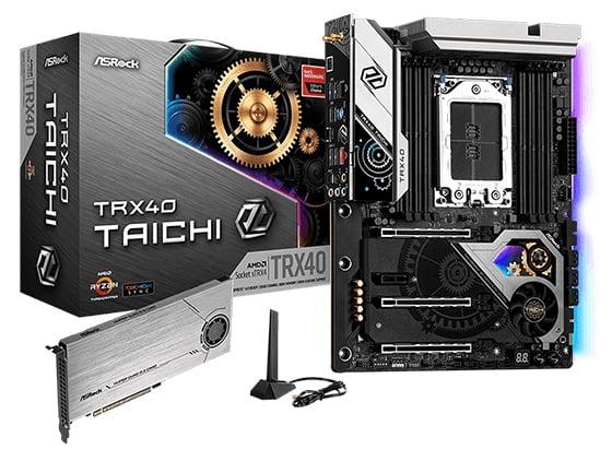 Выбор материнской платы на AMD TRX40 - ASRock TRX40 Taichi