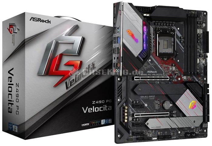 Выбор материнской платы на чипсете Intel Z490 - ASRock Z490 PG Velocita