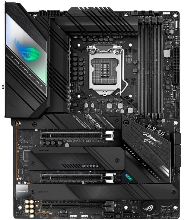 Выбор материнской платы на Intel Z590 - ASUS ROG STRIX Z590-F GAMING WIFI