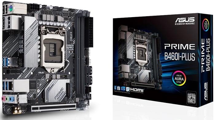 Выбор материнской платы на чипсете Intel B460 - Asus PRIME B460I-PLUS