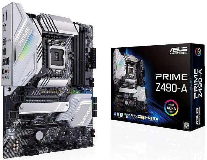 Выбор материнской платы на чипсете Intel Z490 - Asus PRIME Z490-A