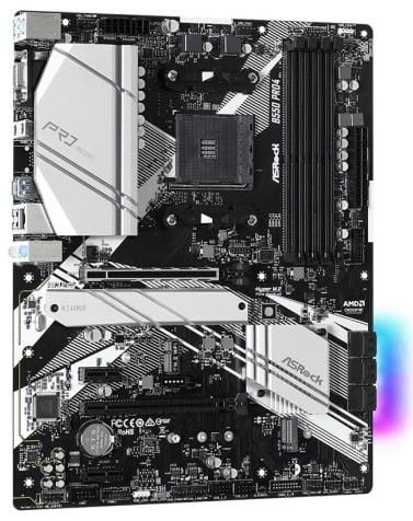 Выбор материнской платы на чипсете AMD B550 - ASRock B550 Pro4