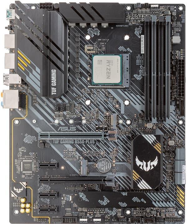 Выбор материнской платы на чипсете AMD B550 - Asus TUF Gaming B550-Plus