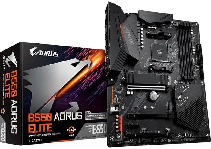 Gigabyte B550 Aorus Elite