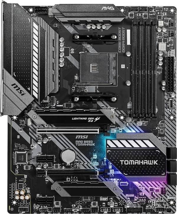 Выбор материнской платы на чипсете AMD B550 - MSI MAG B550 TOMAHAWK