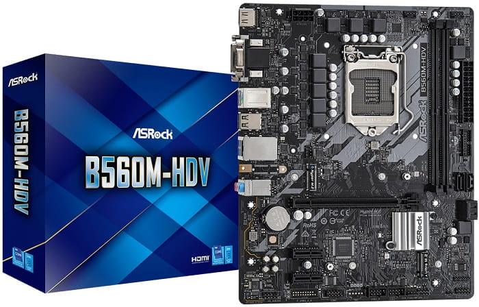 Выбор материнской платы на Intel B560 - Z590_ASRock_Z590_Pro4