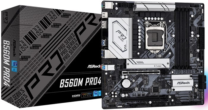 Выбор материнской платы на Intel B560 - ASRock B560M Pro4(/AC)