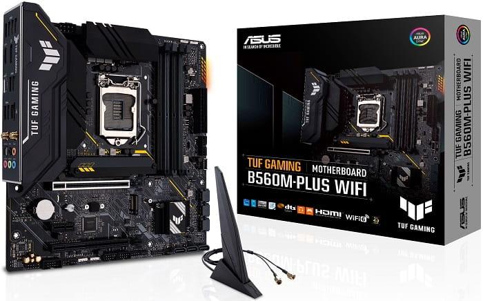 Выбор материнской платы на Intel B560 - Asus TUF Gaming B560M-PLUS (WIFI)