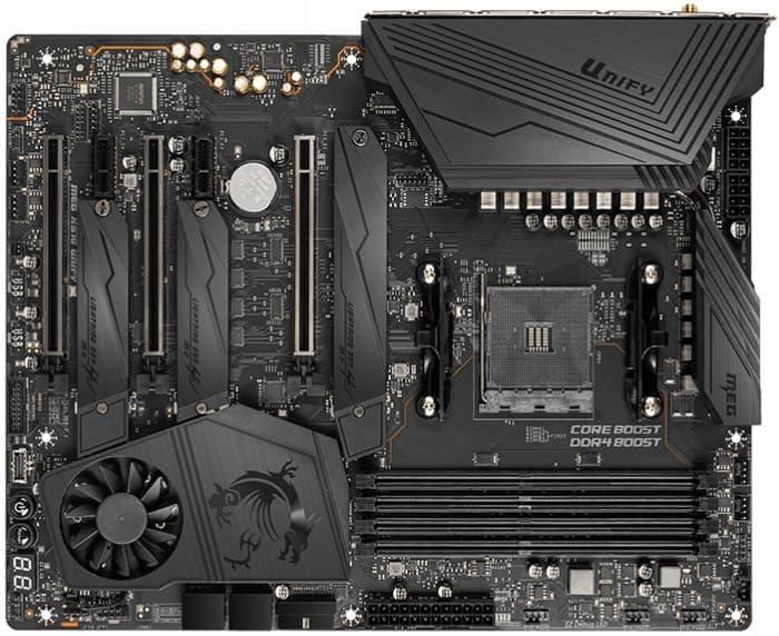 выбор материнской платы на AMD X570