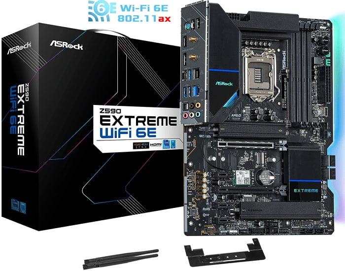 Выбор материнской платы на Intel Z590 - ASRock Z590 Extreme (WiFi 6E)