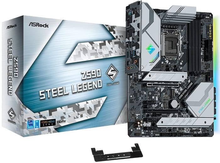 Выбор материнской платы на Intel Z590 - ASRock Z590 Steel Legend