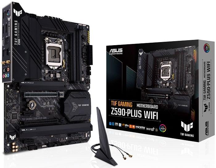 Выбор материнской платы на Intel Z590 - ASUS TUF GAMING Z590-PLUS WIFI