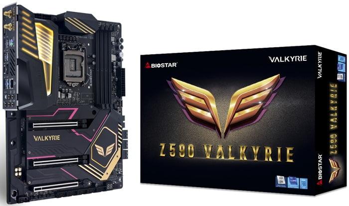 Выбор материнской платы на Intel Z590 - BIOSTAR Z590 VALKYRIE