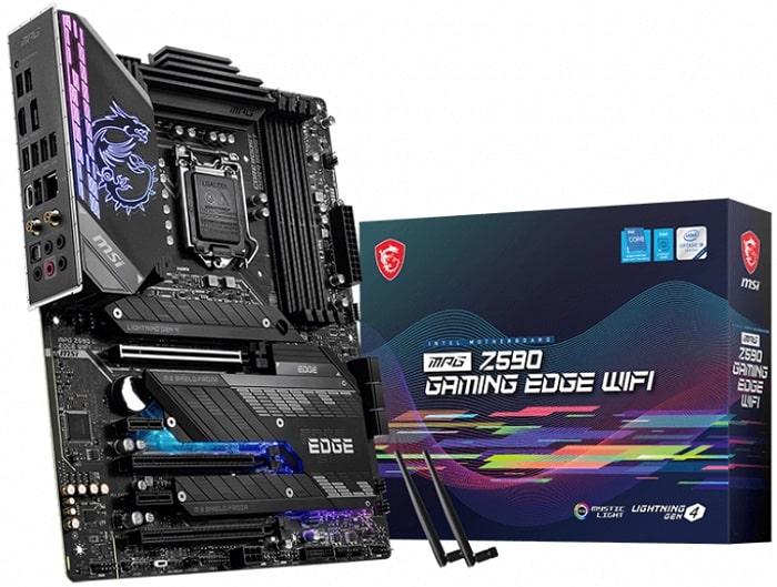 Выбор материнской платы на Intel Z590 - MSI MPG Z590 GAMING EDGE WIFI