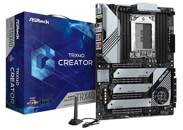 Выбор материнской платы на AMD TRX40 - ASRock TRX40 Creator